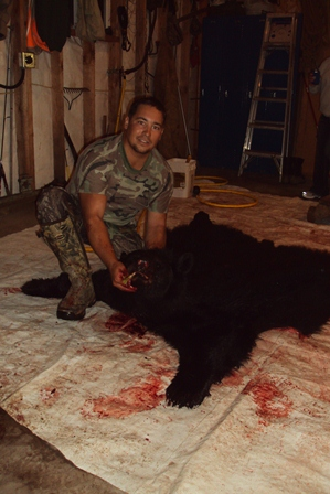 Bear Hunting Guide Service in Bayfield & Douglas County